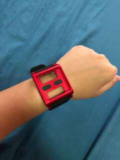 Lunatik Multi-Touch Watch Band for iPod Nano (Red)