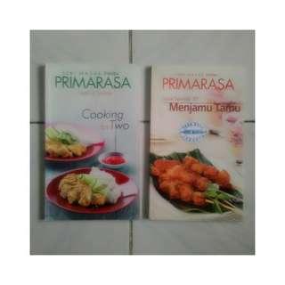 Buku Primarasa - Cooking for Two & Lezat Sekejap 30 Menit Menjamu Tamu