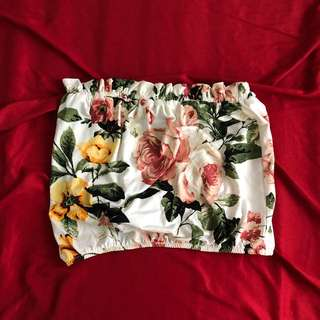 Floral Tube Top