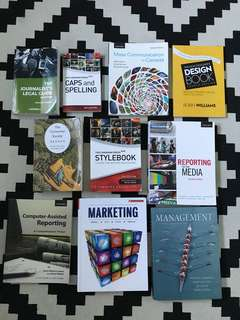 Various media textbooks