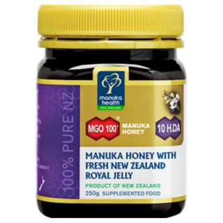 Manuka Health MGO100+ Manuka Honey with Fresh NZ Royal Jelly