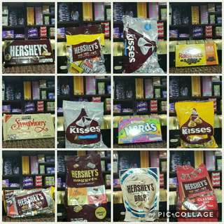Retail and wholesale chocolates