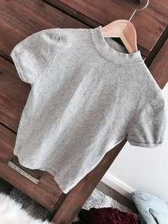 Size 8 knit long crop