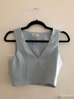 Aritzia - Wilfred Crop Top