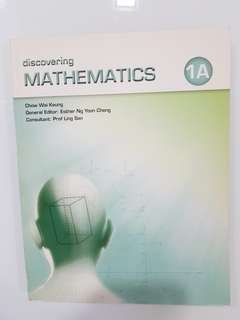 Discovering Mathematics 1A Textbook