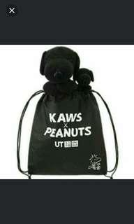 WITH BAG KAWS Snoopy