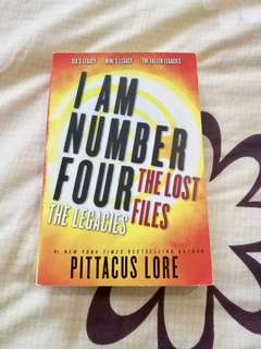 I Am Number Four The Lost Files: The Legacies