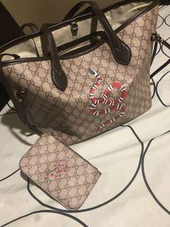Ladies bag with coin purse
