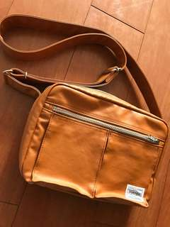 Porter Japan messenger leather bag unisex with tags