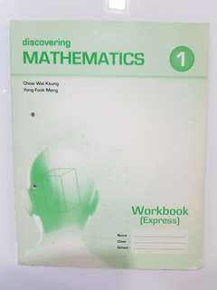 Discovering Mathematics Workbook (Express) 1