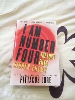 I Am Number Four The Lost Files: Hidden Enemy