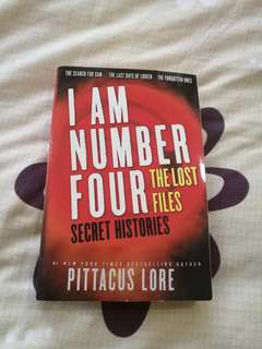 I Am Number Four The Lost Files: Secret Histories
