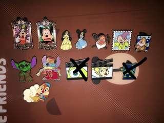 迪士尼Disney pin trading