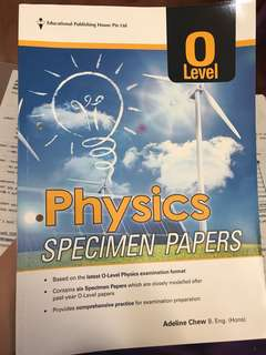 Pure physics assessment book