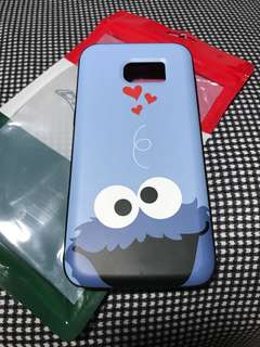 S7 Edge Cookie Monster Phone Cover