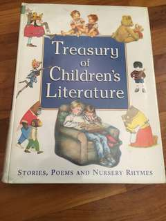 Treasury of children's literature (poems, nursery rhymes)