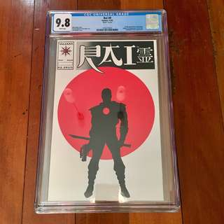 VALIANT COMICS RAI #0 CGC 9.8 WHITE PAGES NM/M 1ST FULL APPEARANCE OF BLOODSHOT, ORIGIN & 1ST APPEARANCE NEW RAI HOT!!!!