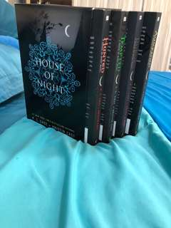 House of Night series 4 books