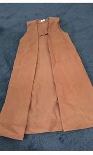 Brown Vest Jacket