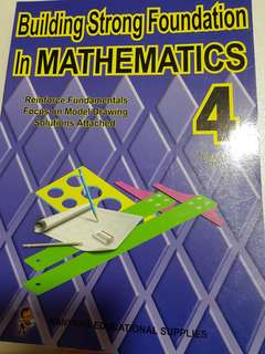 P4 maths assessment book