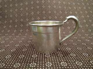 US Antique 1869-1950 Sterling Silver Cup/ Mug (Peter Rabbit), Webster Company, 60.6g, 9.7cm length x 7cm dia. x 5.8cm tall 美國古董純銀杯(比得兔) (實用+裝飾擺設)  www.silvercollection.it/AMERICANSILVERMARKSWXYZ.html  ringo77511@yahoo.com