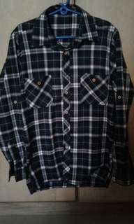 Folded&Hung plaid long sleeves