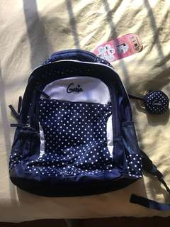 Light Weight Waterproof School bag with many pockets very spacious