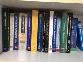 Book Bundle (9 Books) - Business Magnagement, Logistics, Human Resource....etc.