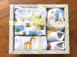 Newborn Baby Gift Set Shears unopened in box - boy girl unisex