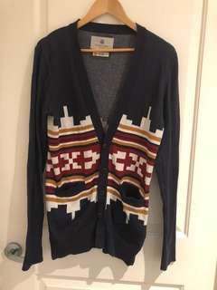 Westbourne Rovers 100% cotton cardigan - size XS