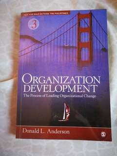Organizational Development (Psychology book)