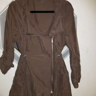 H&M JACKET size 6 super thin colour slightly more grey
