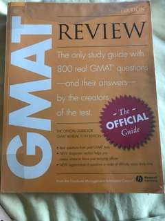 GMAT Preparation Guide