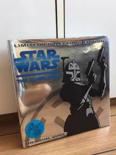 Star Wars The Clone Wars Visual Guide Limited Collectors Edition