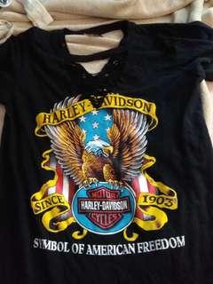 Harley Davidson Tshirt dress