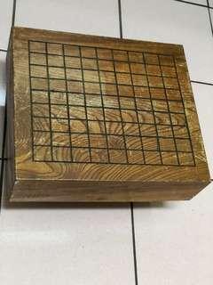 日治棋盤桌,收藏品