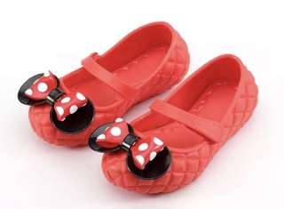 Free Mail Girl's Minnie Shoes