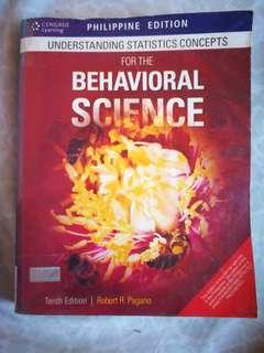 Understanding the Statistics Concepts of Behavioral Science