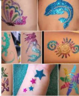 Glitter Tattoo / Face Painting