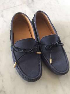 authentic Sacoor brothers loafers leather 39 shoes