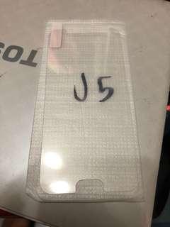 Samsung J5 玻璃貼 x 2 $10