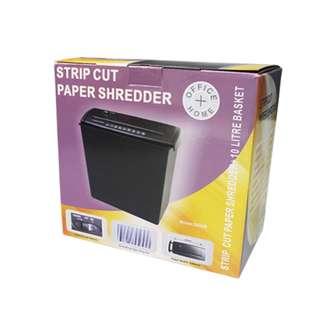 Paper Shredder Strip Cut 5-Sheets Capacity (220v)