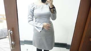 Baju Kurung Abu-Abu (baju kawinan)