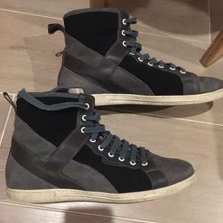 Givenchy men's boot 男裝高筒鞋款 size 43