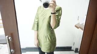 Baju Kurung Hijau (baju kawinan)
