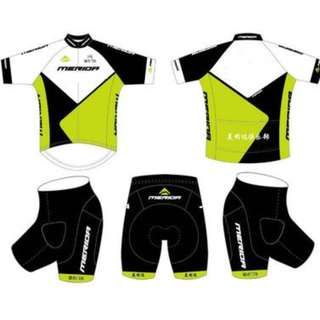 Customised Cycling Jersey Set. Great for Group Cyclists !!!