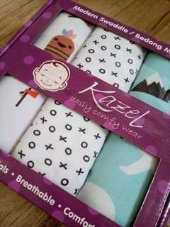 Baby Swaddle Wrap Blanket 3Pcs Box