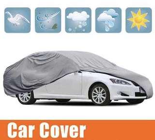 Waterproof Full Car Cover Sun UV Snow Dust Rain Resistant Protection Gray