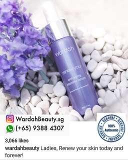Wardah renew you anti aging intensive serum $14 wardah cosmetic ..buy set the serum get discount $12.60nett