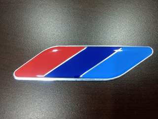 Leaf Shape M-color Emblem for BMW